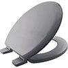 Bemis Chicago STA-TITE Toilet Seat - Whisper Grey - 5000ART492 profile small image view 1