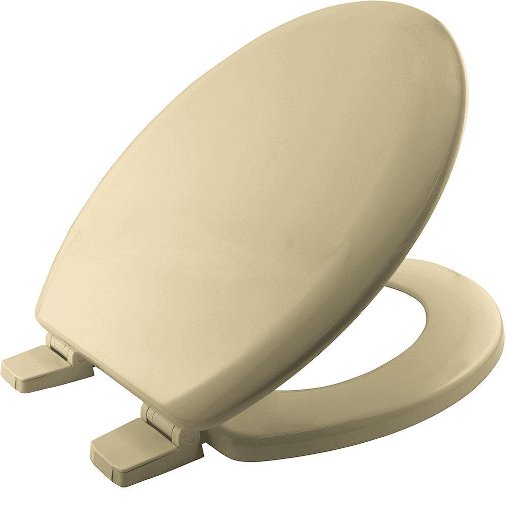 Bemis Chicago STA-TITE Toilet Seat - Champagne - 5000ART756