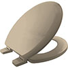 Bemis Chicago STA-TITE Toilet Seat - Indian Ivory - 5000ART846 profile small image view 1