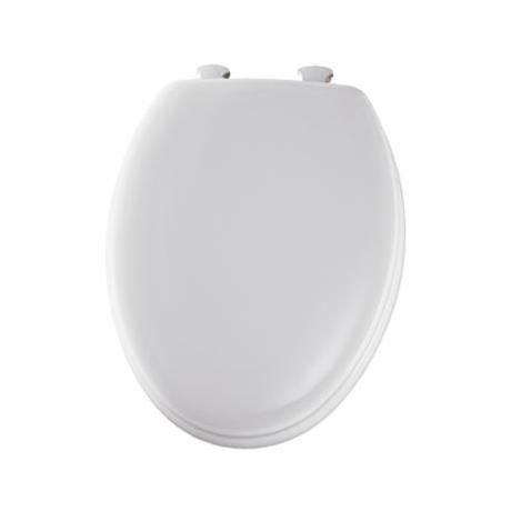 Bemis - Model 5000EC Toilet Seat with Smartlift Take-Off System - White - 5000EC000