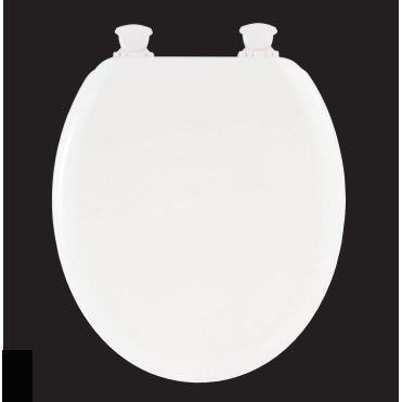 Bemis - Model 5000EC Toilet Seat with Smartlift Take-Off System - White - 5000EC000 profile large image view 1