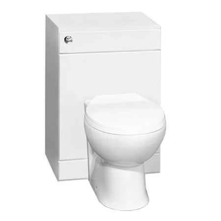 Alaska 500 x 300mm Toilet Unit Inc. Cistern, Pan + Soft Close Seat Profile Large Image