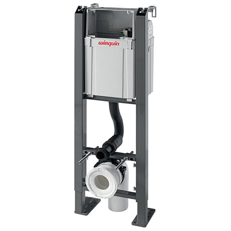 Wirquin Chrono WC Frame with Dual Flush Cistern - 50120560