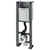Wirquin Chrono WC Frame with Dual Flush Cistern - 50120560 profile small image view 1
