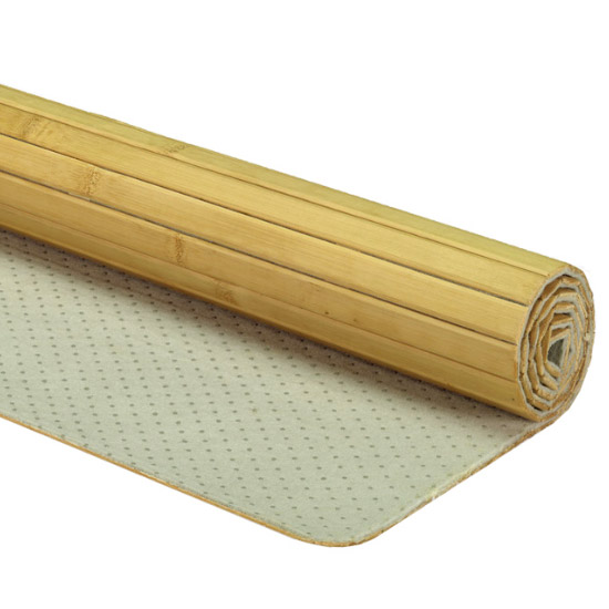 Kleine Wolke - Bamboo Wood Bath Mat - Nature - Various Size Options Feature Large Image