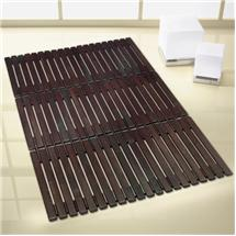 Kleine Wolke - Window Wood Bath Mat - 500 x 800mm - Brown - 5053-318-207 Medium Image