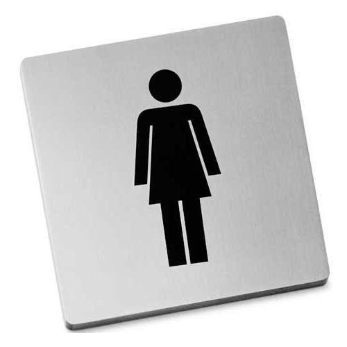 Zack Indici Information Sign - Stainless Steel - Women - 50714 profile large image view 1