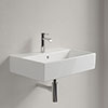 Villeroy and Boch Memento 1TH Wall Hung Basin profile small image view 1