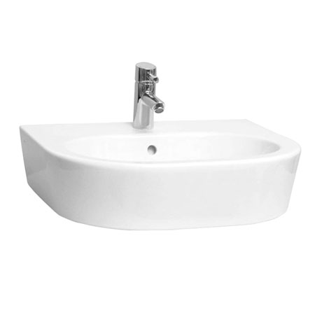 Vitra - Matrix 60cm Curved Countertop Basin - 1 Tap Hole
