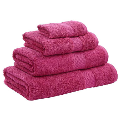 Catherine Lansfield - Egyptian Cotton Towel - Raspberry - Various Size Options