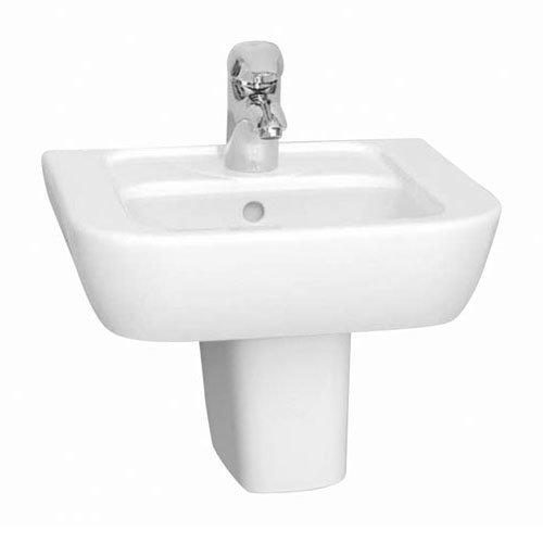 Vitra - Retro 45cm Hand Basin - 1 Tap Hole Large Image