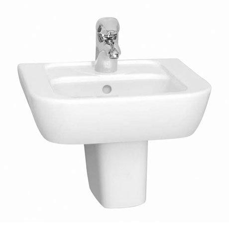 Vitra - Retro 45cm Hand Basin - 1 Tap Hole