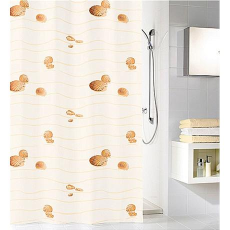 Kleine Wolke - Miami Polyester Shower Curtain - W1800 x H2000 - Beige