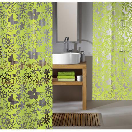 Kleine Wolke - Primavera Vinyl Shower Curtain - W1800 x H2000 - 5169-625-305