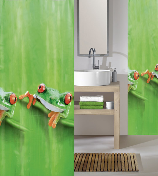 Kleine Wolke - Charlie PEVA Shower Curtain - W1800 x H2000 - 5178-625-305 Large Image