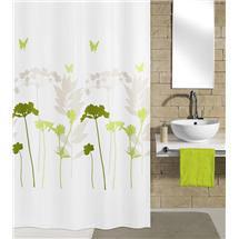 Kleine Wolke - Barcelona Polyester Shower Curtain - W1800 x H2000 - Green Medium Image