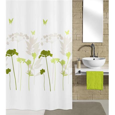 Kleine Wolke - Barcelona Polyester Shower Curtain - W1800 x H2000 - Green