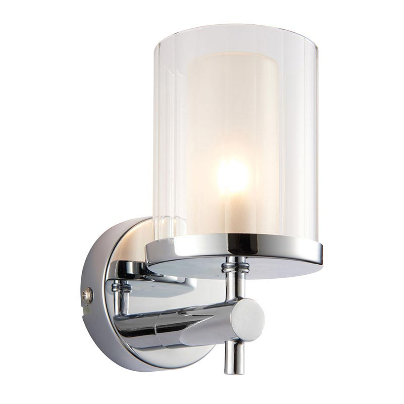 Endon Britton Bathroom Wall Light Fitting At Victorian Plumbing.co.uk