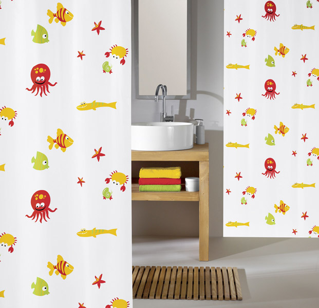 Kleine Wolke - Bounty PEVA Shower Curtain - W1800 x H2000 - 5189-148-305 profile large image view 1
