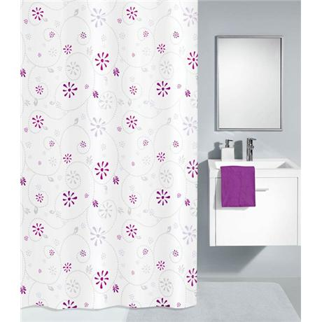 Kleine Wolke - Bijou Polyester Shower Curtain - W1800 x H2000 - Berry