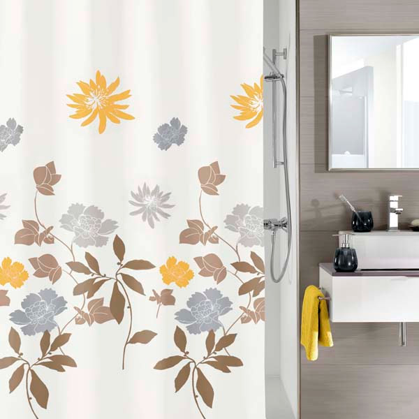 Kleine Wolke - Alice Polyester Shower Curtain - W1800 x H2000 - 5197-271-305 Large Image