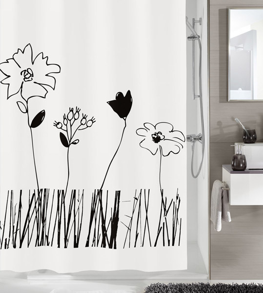 Kleine Wolke - Grace PEVA Shower Curtain - W1800 x H2000 - 5200-185-305 Large Image