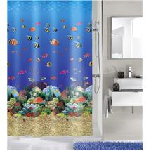 Kleine Wolke - Maldives PEVA Shower Curtain - W1800 x H2000 - 5202-148-305 Medium Image
