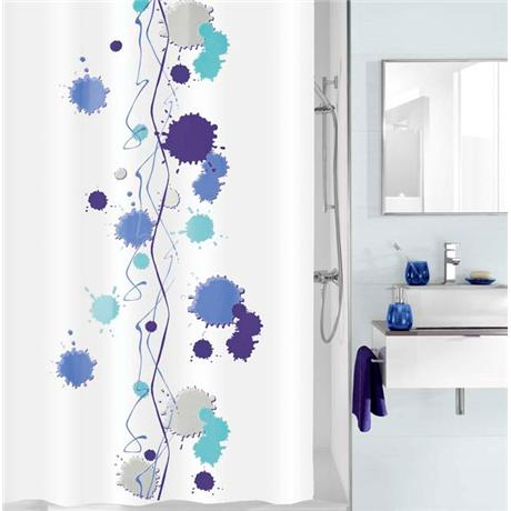 Kleine Wolke - Klexx Polyester Shower Curtain - W1800 x H2000 - Blue