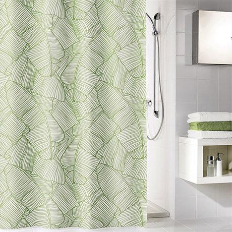 Kleine Wolke Jungle Polyester Shower Curtain - W1800 x H2000mm