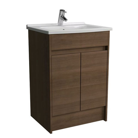Vitra - S50 60cm Floor Standing Vanity Unit and Basin - 2 Colour Options