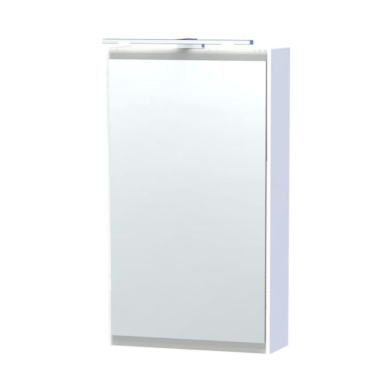 Miller - London 40 Mirror Cabinet - White profile large image view 1
