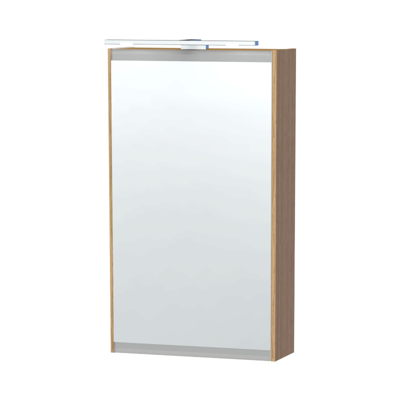 Miller - London 40 Mirror Cabinet - Oak Large Image