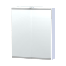 Miller - London 60 Mirror Cabinet - White - 53-2 Medium Image