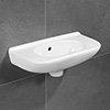 Villeroy and Boch O.novo 500 x 250mm Handwash Basin - 53615001 profile small image view 1