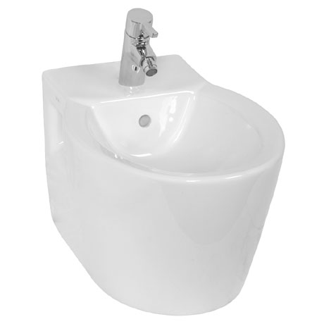 Vitra - Sunrise Wall Hung Bidet - 1 Tap Hole - 5386