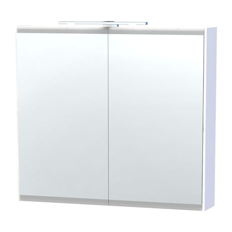Miller - London 80 Mirror Cabinet - White - 54-2