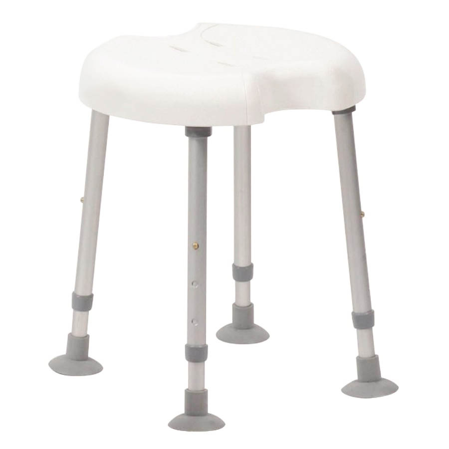 Drive DeVilbiss Delphi Shower Stool with Double Recess - 540300000