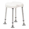 Drive DeVilbiss Delphi Shower Stool with Double Recess - 540300000 profile small image view 1