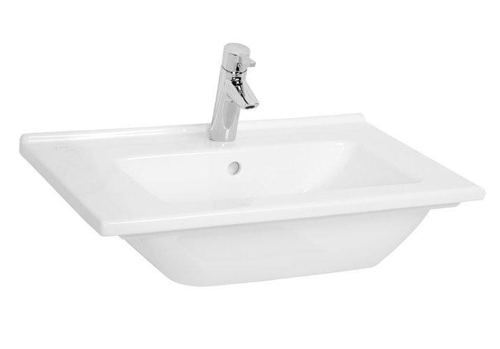 Vitra - S50 Vanity Basin - 1 Tap Hole - 4 Size Options Large Image