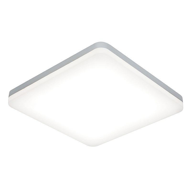 Saxby Noble LED Square Bathroom Light Fitting Large Image