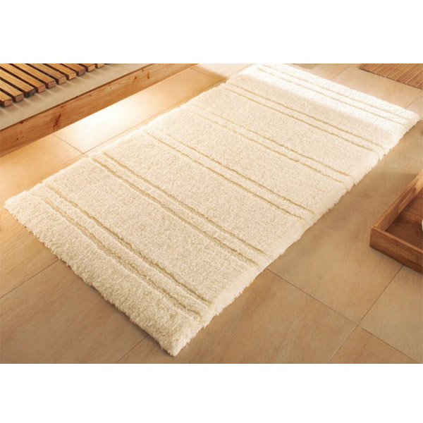 Kleine Wolke - Sahara Organic Cotton Bath Mat - Nature - Various Size Options Large Image