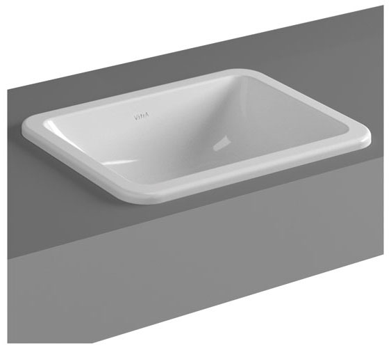 Vitra - S20 Countertop Square Basin - 3 Size Options Large Image