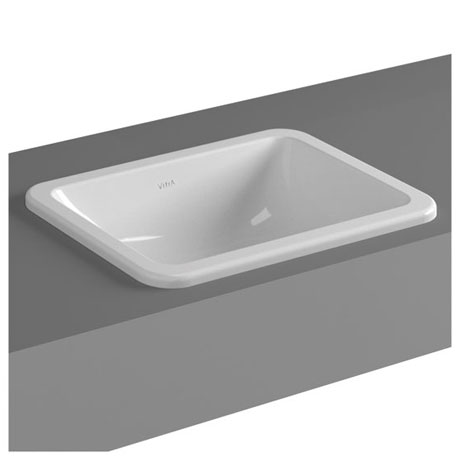 Vitra - S20 Countertop Square Basin - 3 Size Options