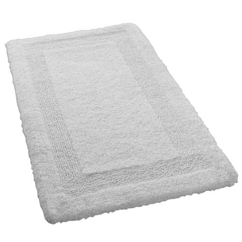Kleine Wolke - Arizona Bath Mat - Silver Grey - Various Size Options Large Image