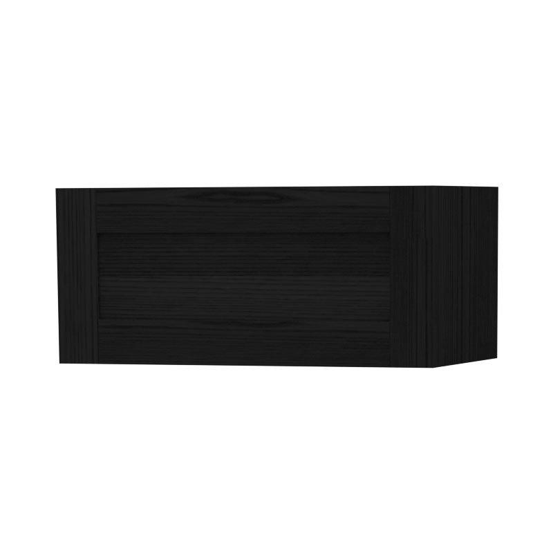 Miller - London Horizontal Storage Cabinet - Black profile large image view 1