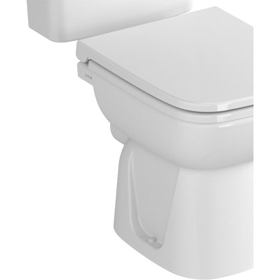 Vitra - S20 Model Close Coupled Toilet - Open Backed - 2 x Seat Options profile large image view 2