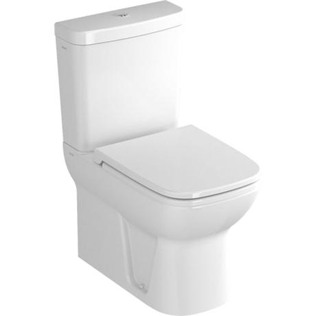 Vitra - S20 Model Close Coupled Toilet - Closed Backed - 2 x Seat Options