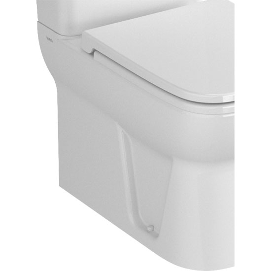 Vitra - S20 Model Close Coupled Toilet - Closed Backed - 2 x Seat Options profile large image view 2