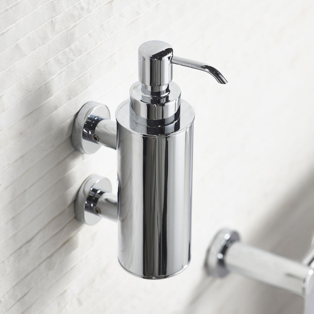 Roper Rhodes Minima Wall Mounted Soap Dispenser - 5515.02 Profile Large Image