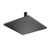 Tre Mercati Black 240mm Aluminium Square Shower Head - 55640 profile small image view 1